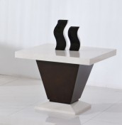 Arta Marble Lamp Table
