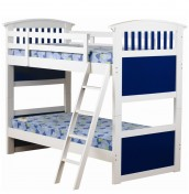 Kids Club Blue Bunk Bed