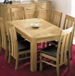 Lyon Oak Dining Table and Chairs