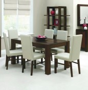 Lyon Walnut Dining Table and Chairs