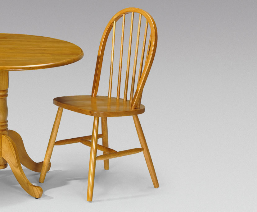windsor traditional pine dining chair