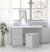Trend White High Gloss Dressing Table