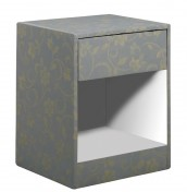 Lisa Upholstered Bedside Table