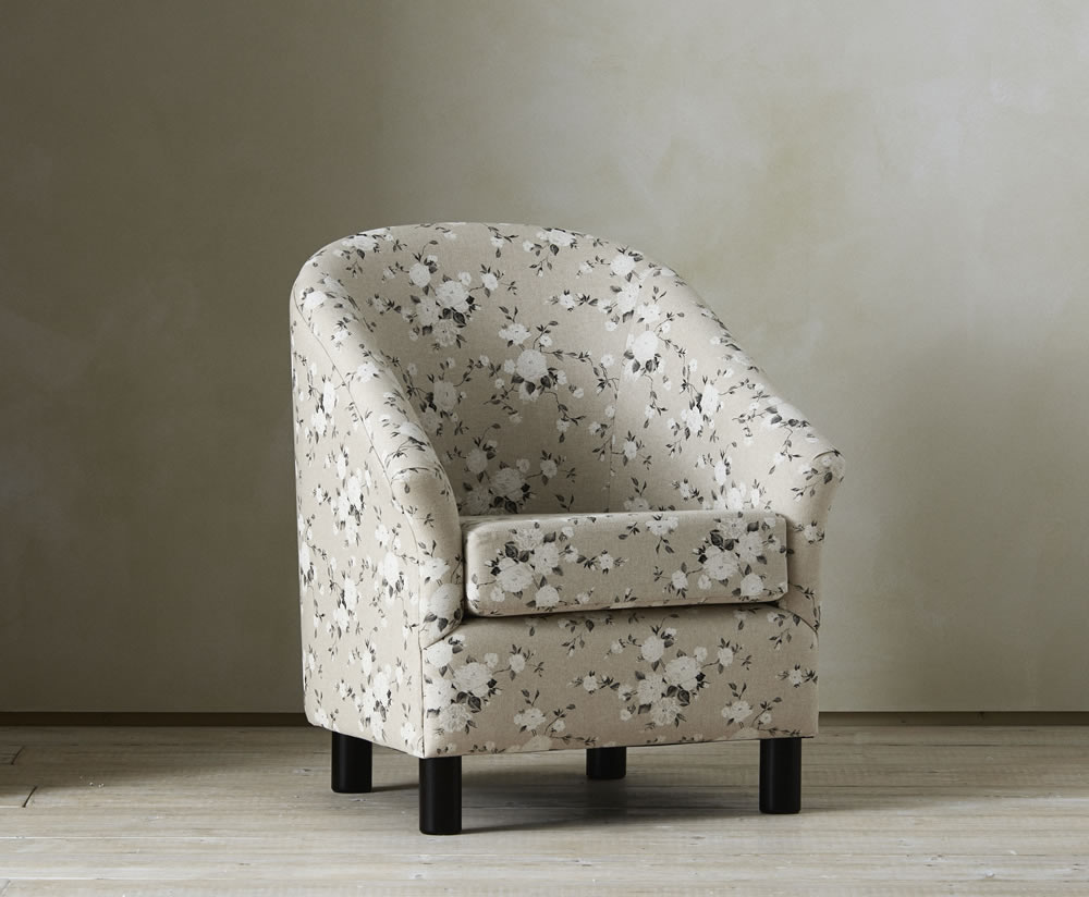 Riva Fabric Upholstered Tub Chair