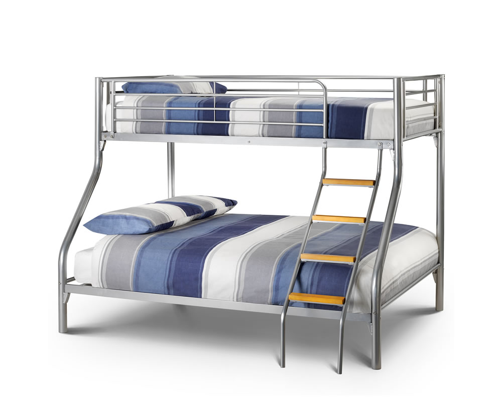 Atlas Triple Metal Bunk Bed Single Top Bed Amp Double
