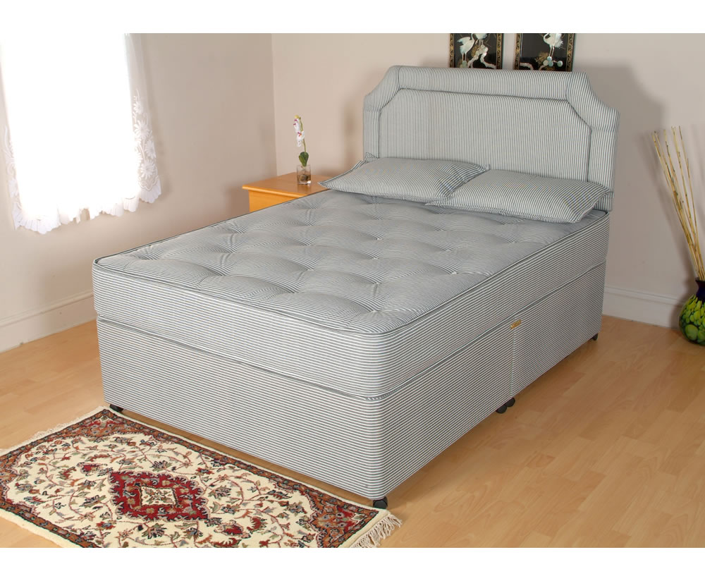 Opal divan bed base only for Single divan bed base with storage