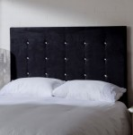 Regents Crystal Buttoned Headboard