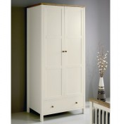 Atlantis Two Tone 2 Door Wardrobe