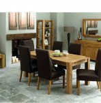 Lyon Oak Extending Dining Set