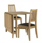Modena Oak Gateleg Table Set