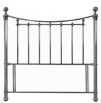 Isabelle Antique Nickel Headboard
