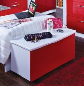 Danni Red Teens Blanket Box