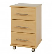 Boston 3 Drawer Bedside Chest
