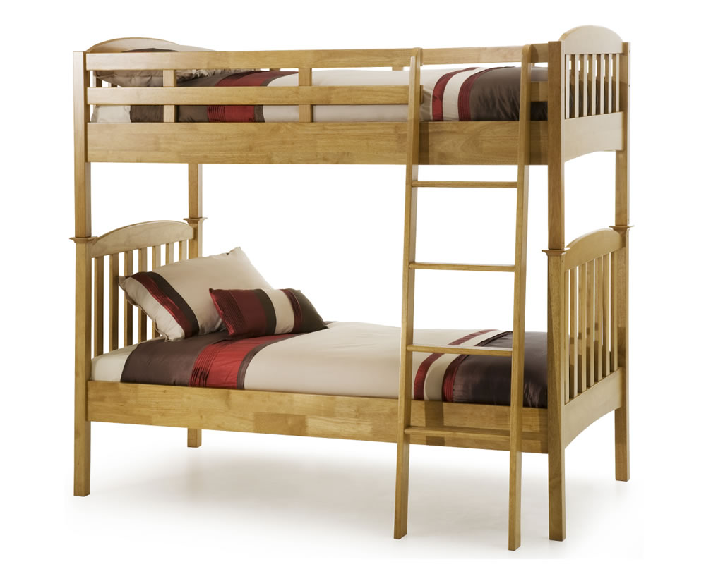 eleanor hevea oak bunk bed bunk bed only