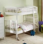 Eleanor Hevea White Bunk Bed