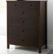 Atlantis Dark 4+2 Drawer Chest