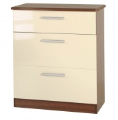 Rook Mix 'n' Match 3 Drawer Deep Chest