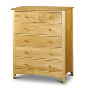 Kendal 4+2 Drawer Solid Pine Chest