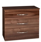 Lazio 3 Drawer High Gloss Chest