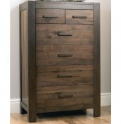 Lyon Walnut 4+2 Drawer Chest