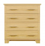Melody 4 Drawer Oak Chest