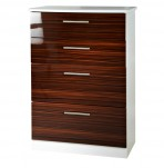 Bishop 4 Drawer High Gloss Chest