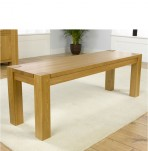Rubi Oak Dining Bench
