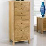 Atlantis Natural 7 Drawer Chest