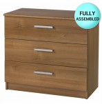 Alive 3 Drawer Walnut Chest