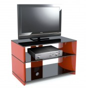 Calais Red High Gloss TV Stand