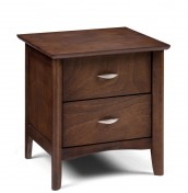 Minuet 2 Drawer Wenge Bedside Chest