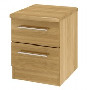 New Sherwood 2 Drawer Bedside Chest