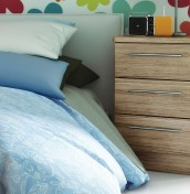 New Sherwood 3 Drawer Bedside Chest