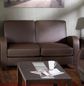 Forli 2 Seater Faux Leather Sofa