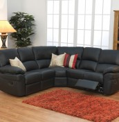 Nova Genuine Leather Corner Sofa