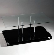 Kappa Glass Coffee Table