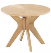 Laxa Oak Lamp Table