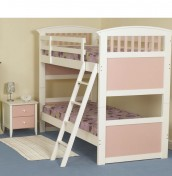 Kids Club Pink Bunk Bed