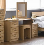 Bonne Oak Dressing Table