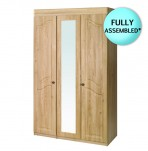 Bonne 3 Door Oak Wardrobe