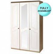 Bonne Two Tone 3 Door Wardrobe