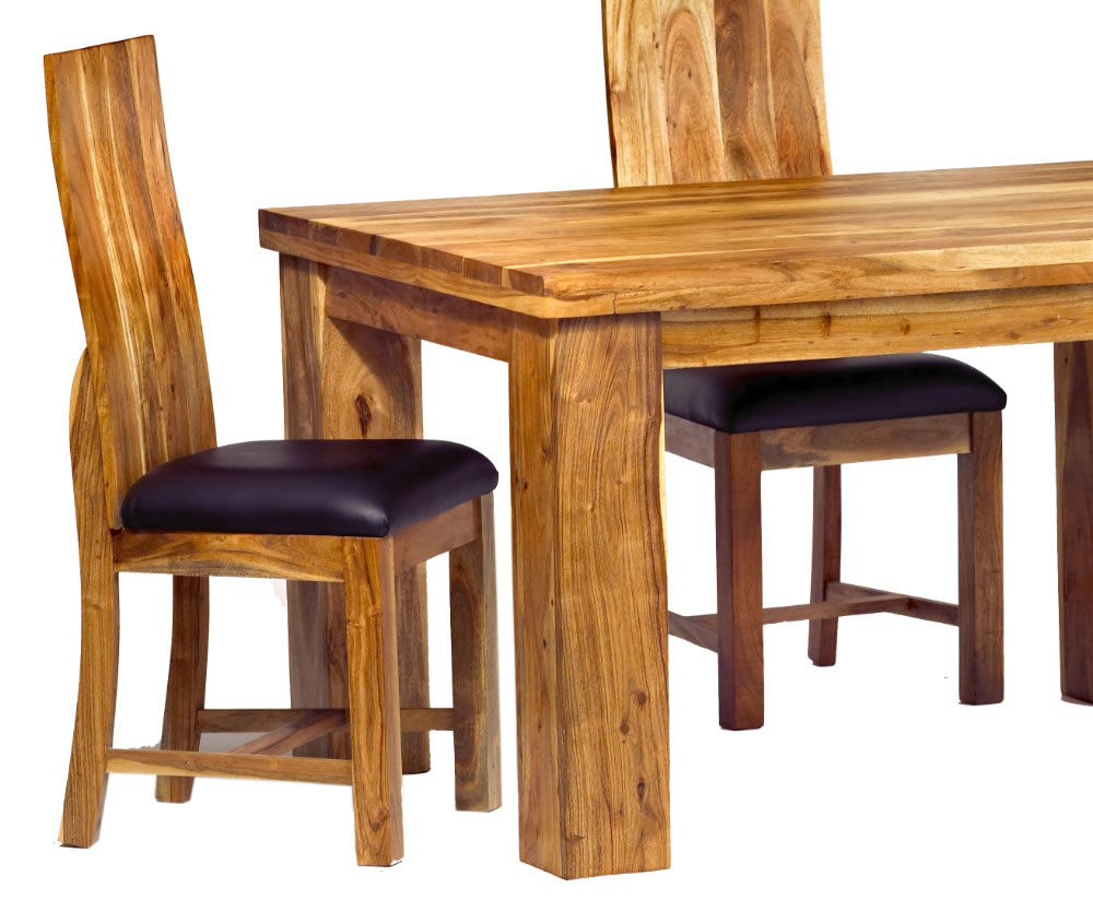 Surat Acacia Small Dining Table And Chairs