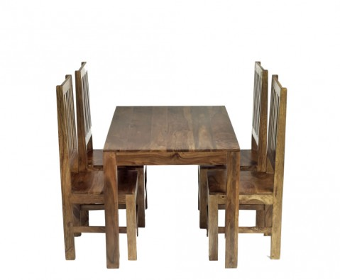 Mumbai sheesham small dining set express uk delivery for Best dining tables in mumbai