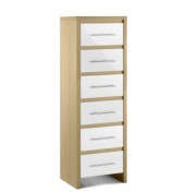 Helsinki 6 Drawer High Gloss Chest