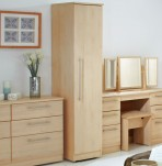 New Sherwood 1 Door Wooden Wardrobe