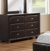 Jersey 6 Drawer Brown Chest