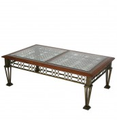 Colomars Glass Coffee Table