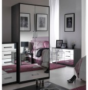 Jessica 2 Door Mirrored Wardrobe