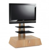 Quartz Oak Cantilever TV Stand