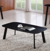 Lucca Black Glass Coffee Table